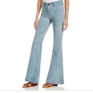 Free People Jolene Flare Wide Leg Jeans